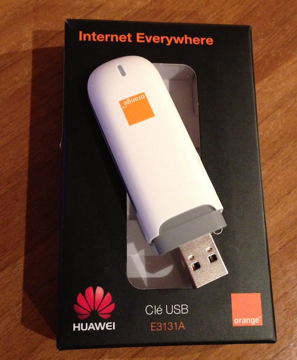 Picture of Orange 3G modem